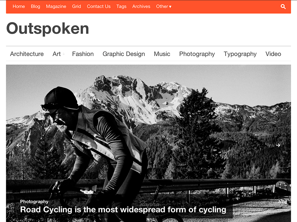 Outspoken WordPress Theme